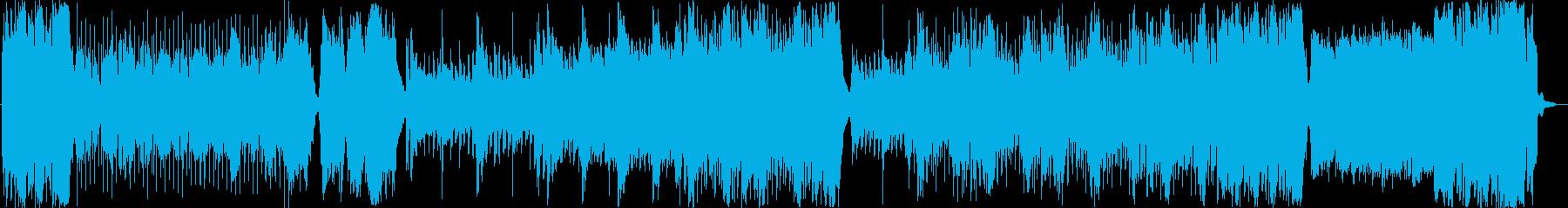 【アニメ】懐かし戦隊キメからの戦闘シーンの再生済みの波形