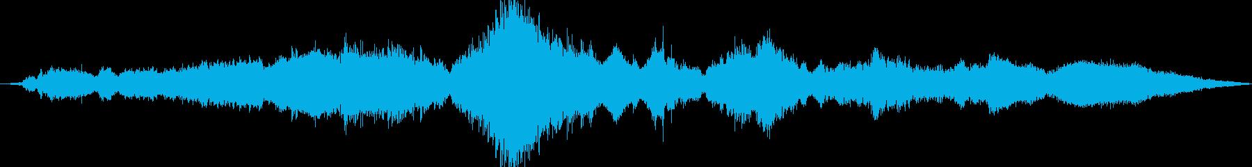 ストックカー:シングルカー:ドーナ...の再生済みの波形