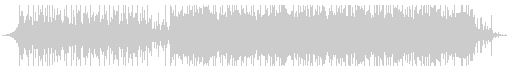 動機付け(60秒)の未再生の波形
