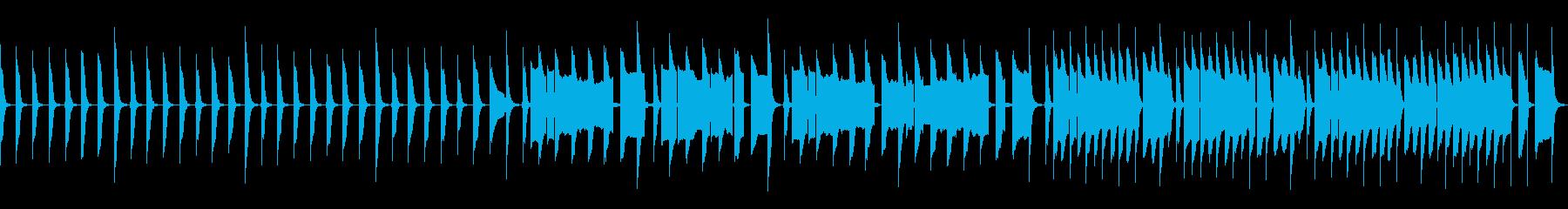 脱力なリコーダー練習の再生済みの波形