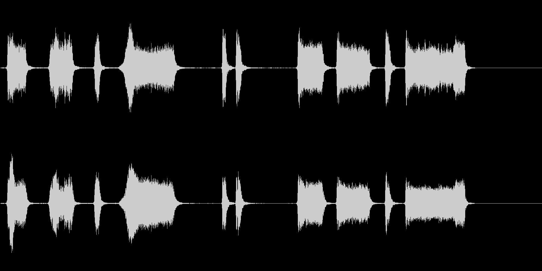 エアホイッスルアンティーク1をトレ...の未再生の波形
