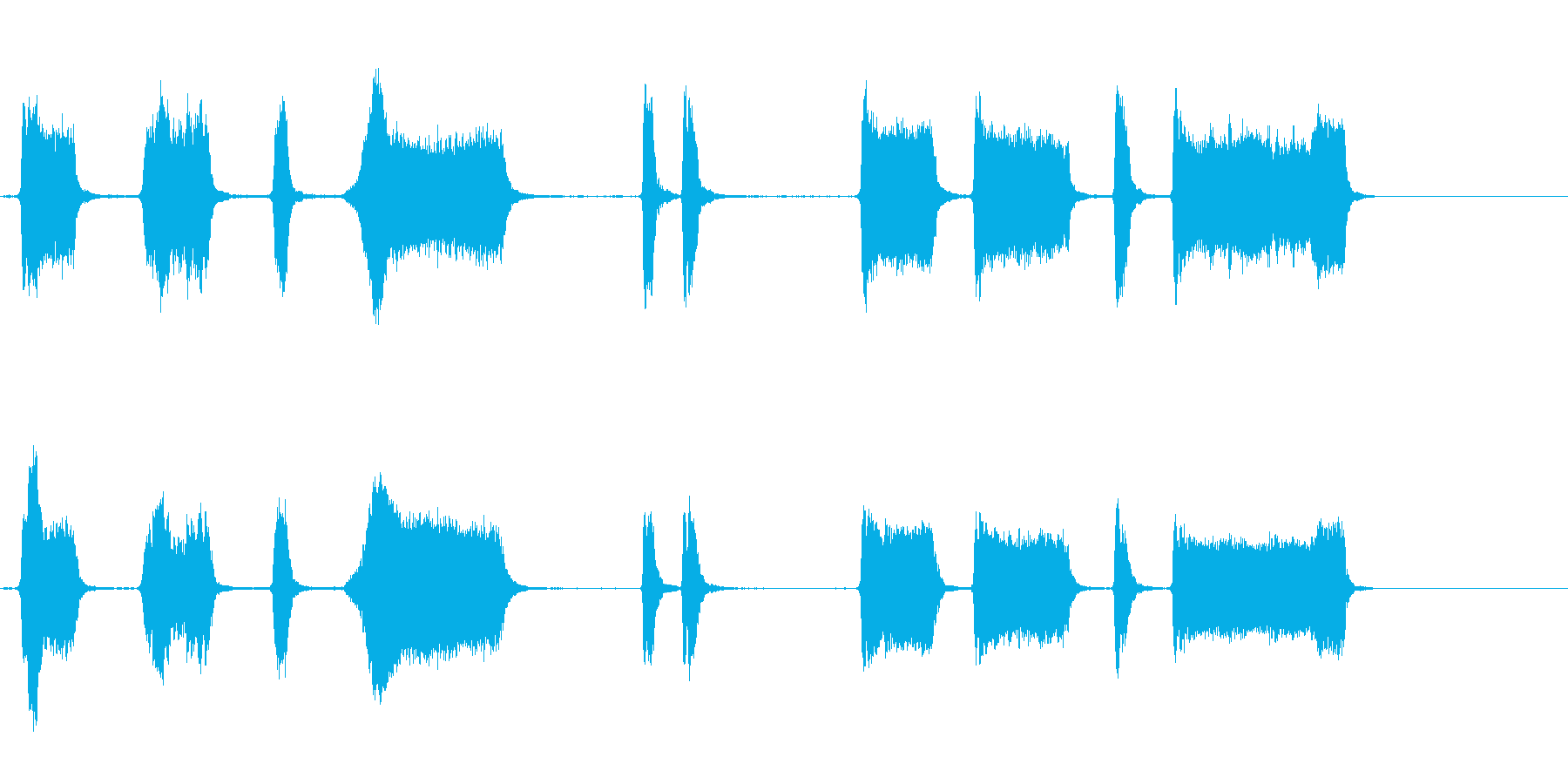 エアホイッスルアンティーク1をトレ...の再生済みの波形