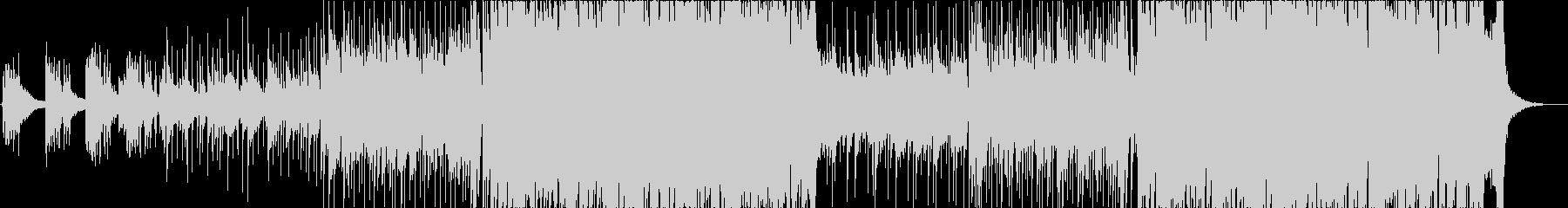 おしゃれなインストバンド系ピアノロックの未再生の波形