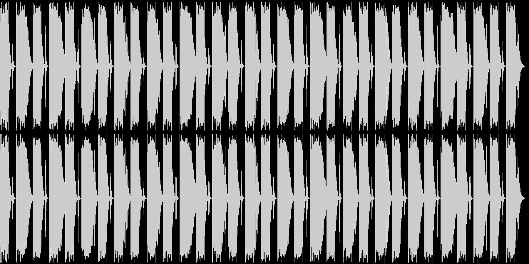 【エレクトロニカ】ロング2、ジングル3の未再生の波形