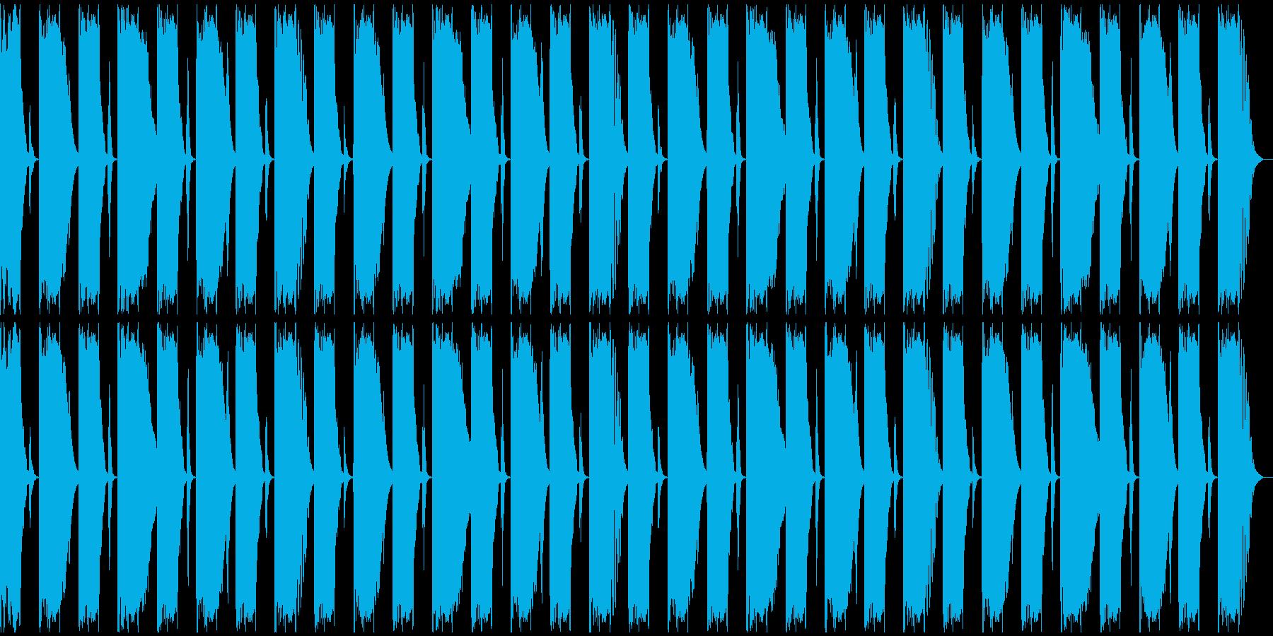【エレクトロニカ】ロング2、ジングル3の再生済みの波形
