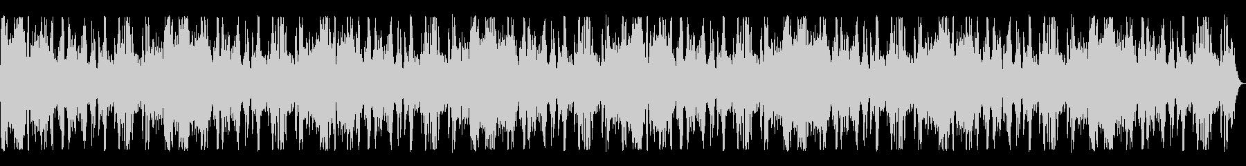 海辺の波の音の未再生の波形