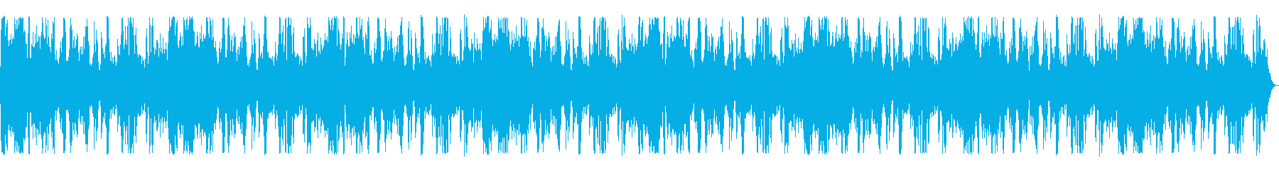 海辺の波の音の再生済みの波形