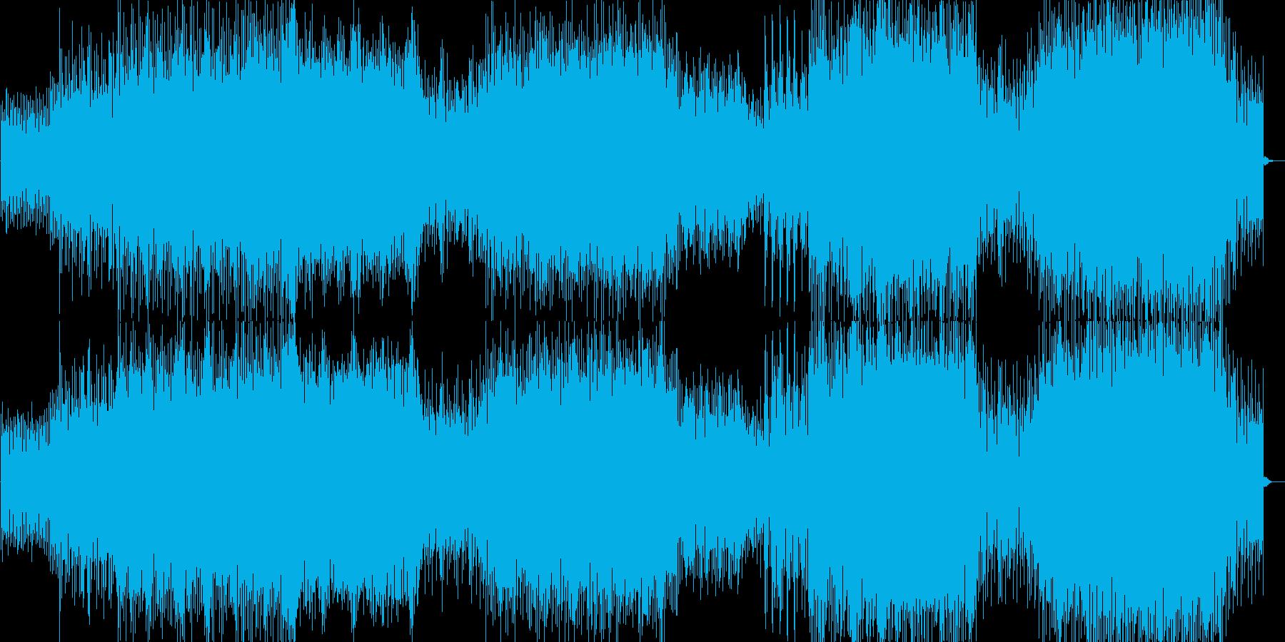 大きく、反復的で、時にはホバリング...の再生済みの波形