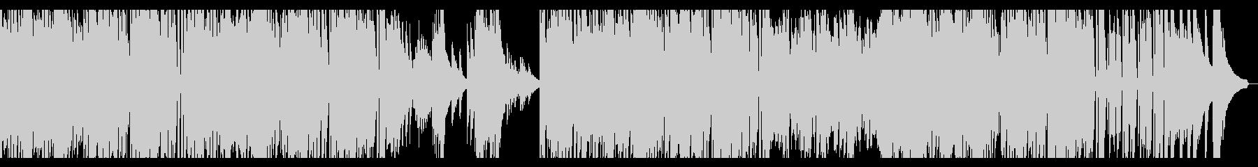 アップテンポでお洒落カワイイピアノソロの未再生の波形