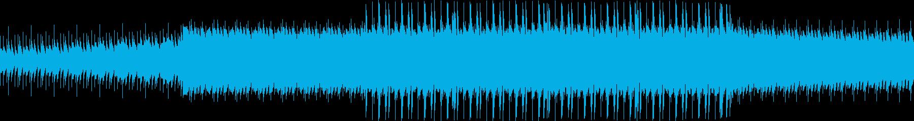 マリンバによる不思議なループ曲の再生済みの波形