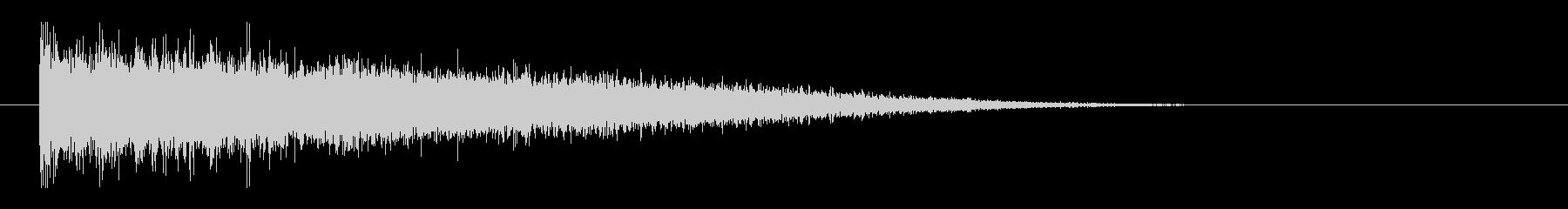 レーザー音-147-3の未再生の波形