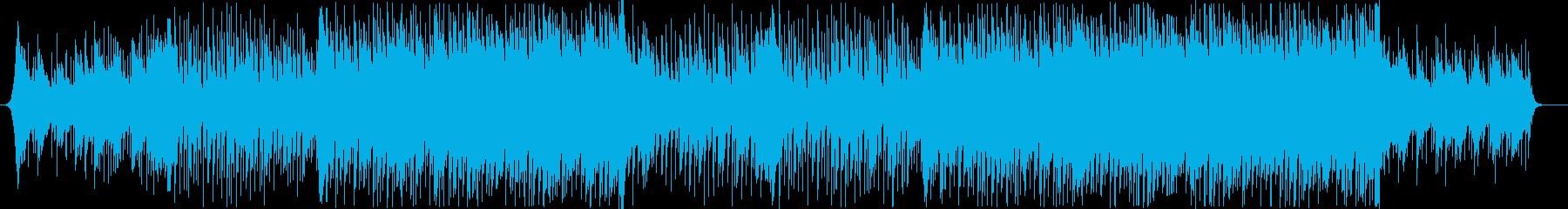 爽やか躍動感ピアノフルートコーポレートAの再生済みの波形
