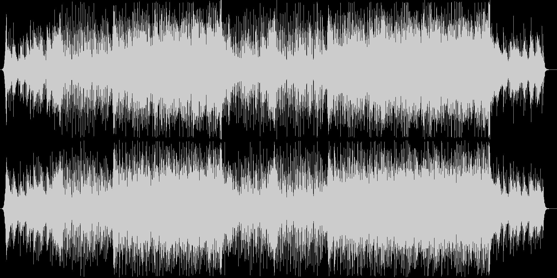 爽やか躍動感ピアノフルートコーポレートAの未再生の波形