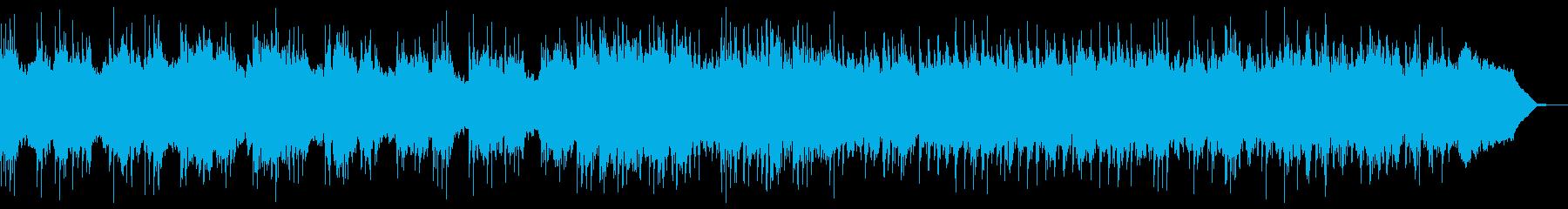 スロー、ダーク、重厚なヘビーメタルBGMの再生済みの波形