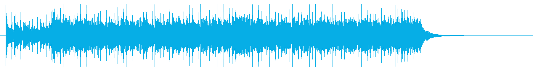 激動の近未来的メタルジングルの再生済みの波形