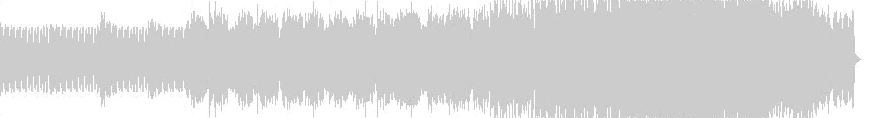 ミニマル・ポップなエレクトロニカの未再生の波形