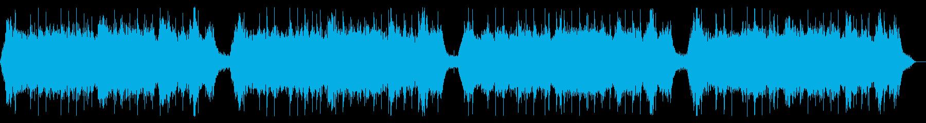 ヒーリング ソルフェジオ周波数の癒しの再生済みの波形