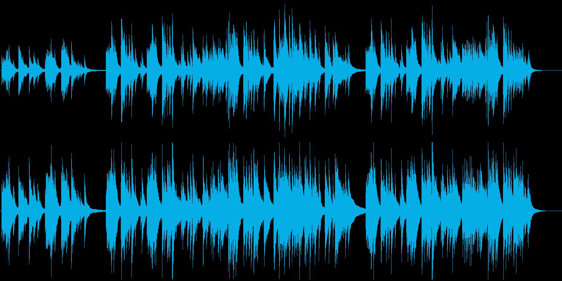 和風なギターインストバラードの再生済みの波形