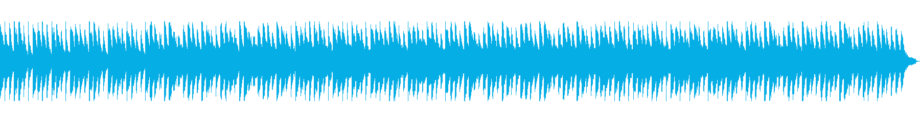 リラックス・ヒーリング ピアノの再生済みの波形