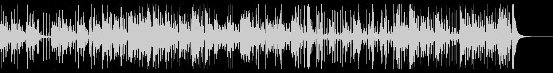 コントラバス、ジャズピアノ、ジャズドラムの未再生の波形