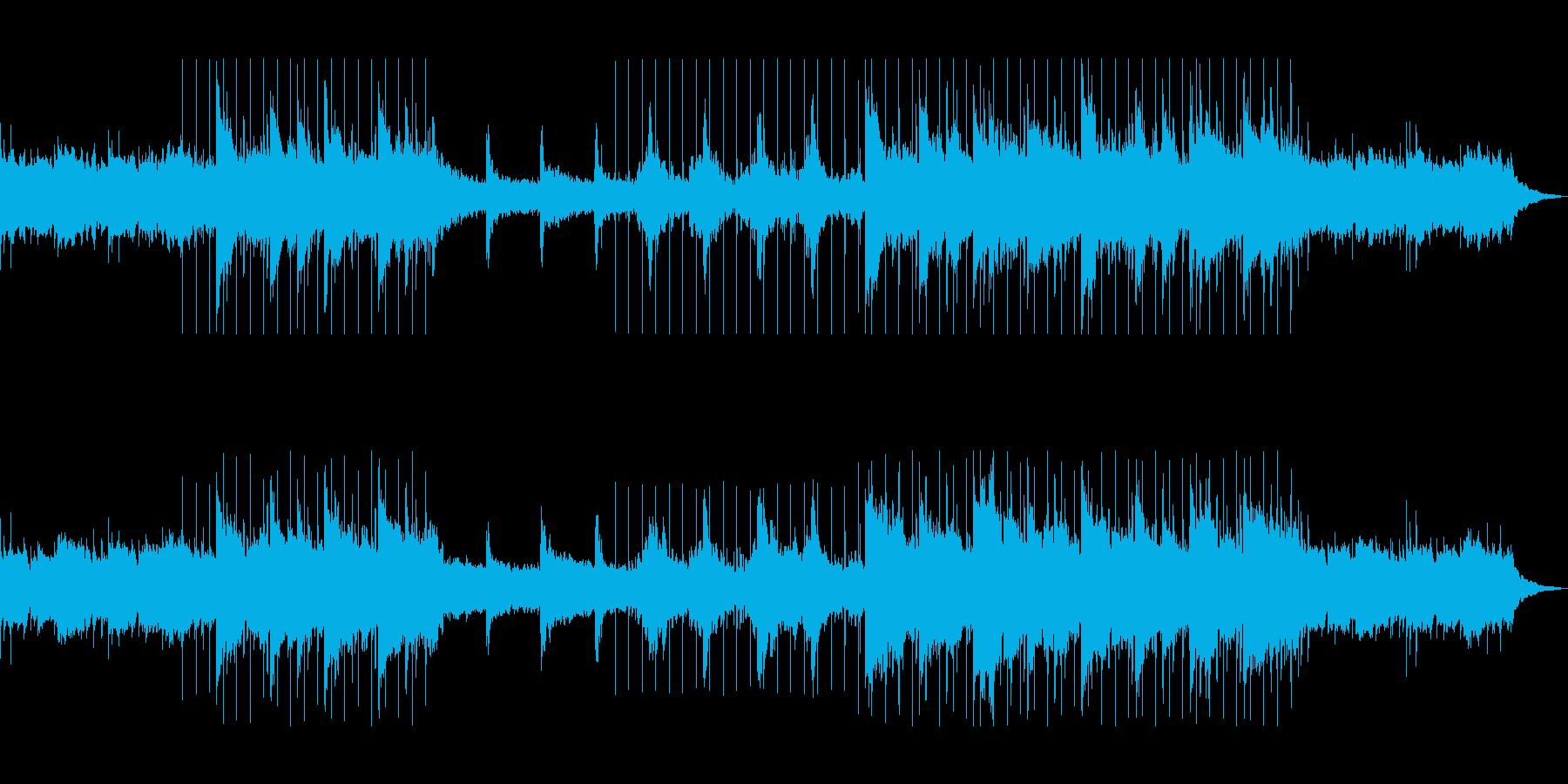 秋のローファイリラックスビートの再生済みの波形