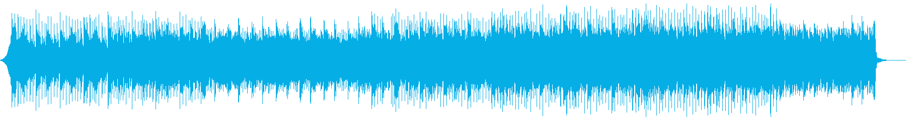 クールな印象のコーポレート/CM/Webの再生済みの波形