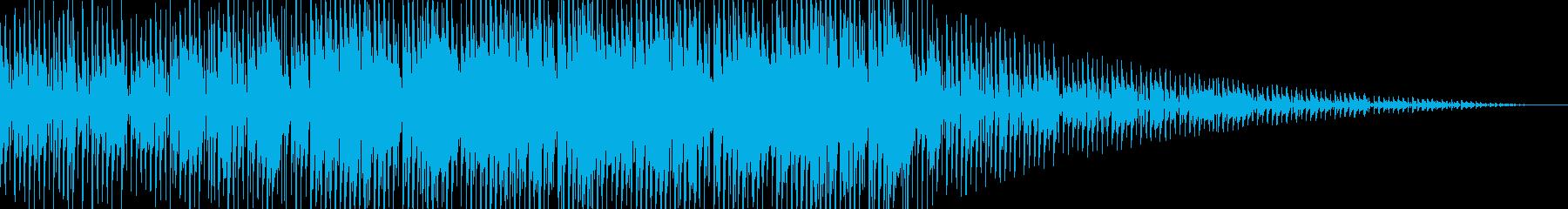 ダブでレゲェなジングルの再生済みの波形