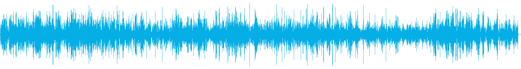 グツグツと煮る料理の音の再生済みの波形