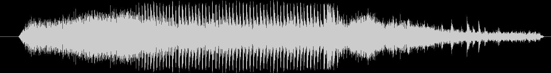 機械 ドリルストーン01の未再生の波形
