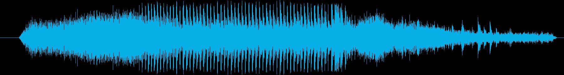 機械 ドリルストーン01の再生済みの波形