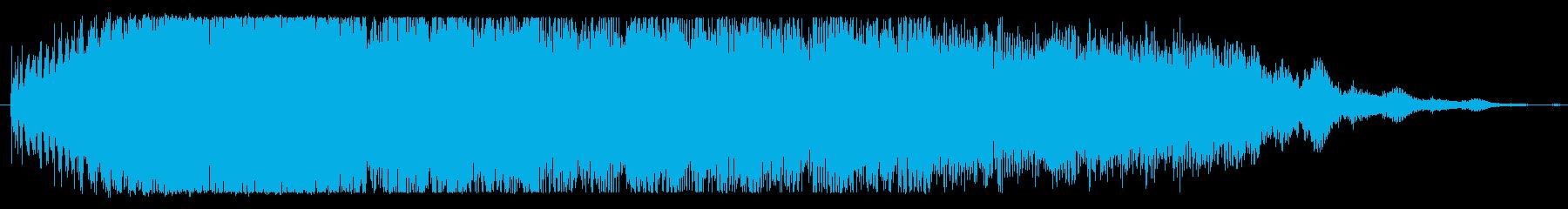 フィクション スペース ジェットエ...の再生済みの波形