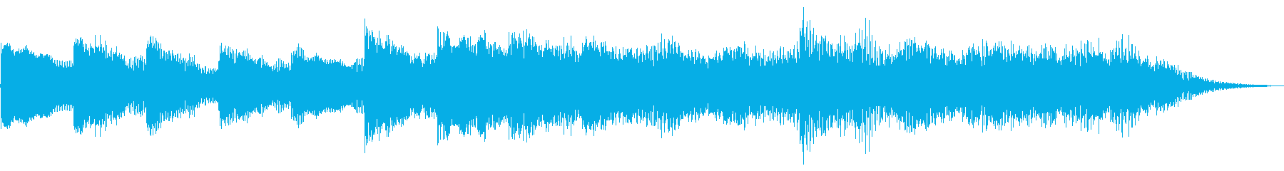 メガソフトエンディング、MUSIC...の再生済みの波形