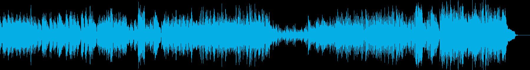 絵本がテーマ・ピアノソロからクラシカルへの再生済みの波形