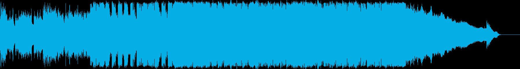 駆け抜けるエレキギターサウンド!!の再生済みの波形