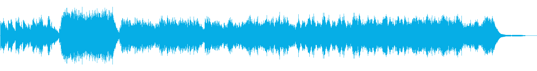 簡捷たる目眩の奏の再生済みの波形
