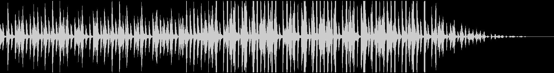 BGMやCMに 軽快なピアノ曲の未再生の波形