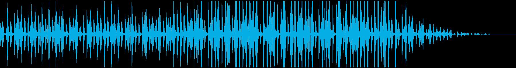 BGMやCMに 軽快なピアノ曲の再生済みの波形