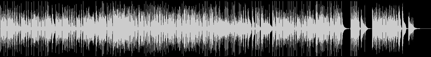 ベートーヴェンの悲愴をナイロンギターでの未再生の波形