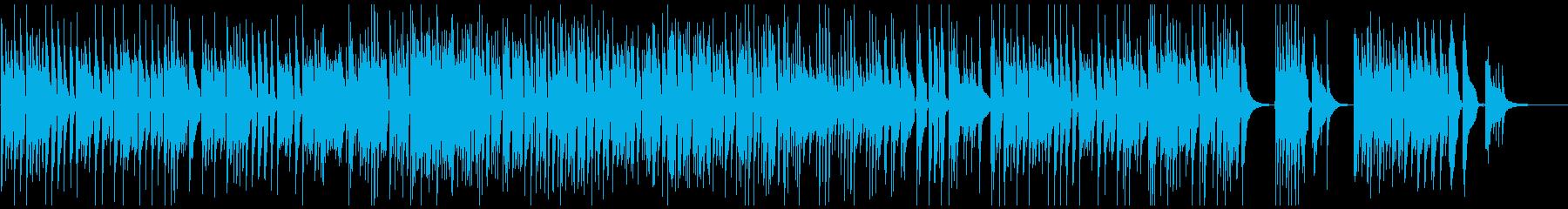 ベートーヴェンの悲愴をナイロンギターでの再生済みの波形