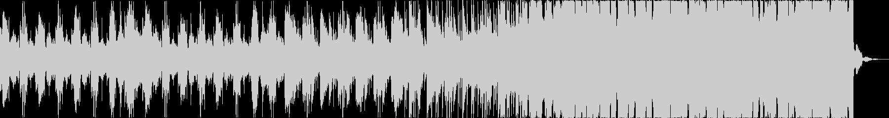 チルアウトクールなトロピカルハウスbの未再生の波形