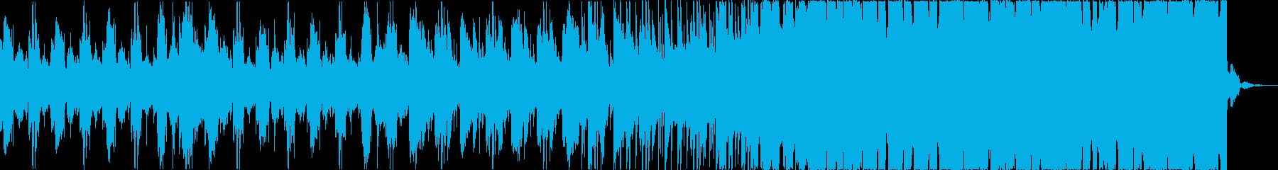 チルアウトクールなトロピカルハウスbの再生済みの波形