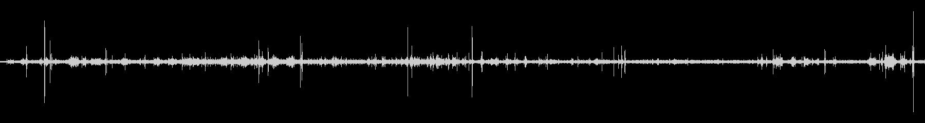 露天風呂(バイノーラル・立体音響で録音)の未再生の波形