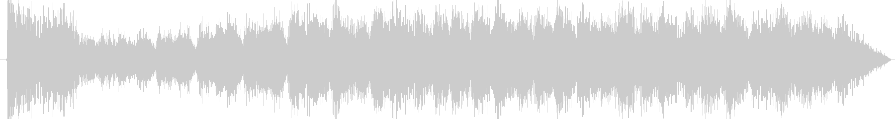 ドラムロールの未再生の波形