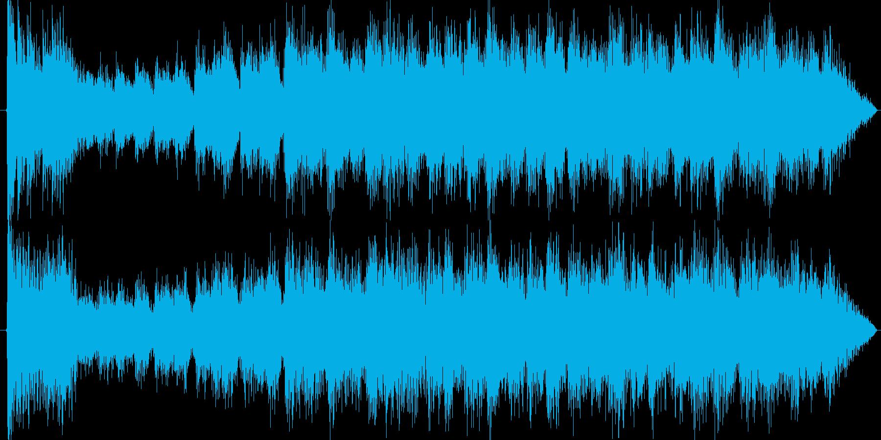 ドラムロールの再生済みの波形