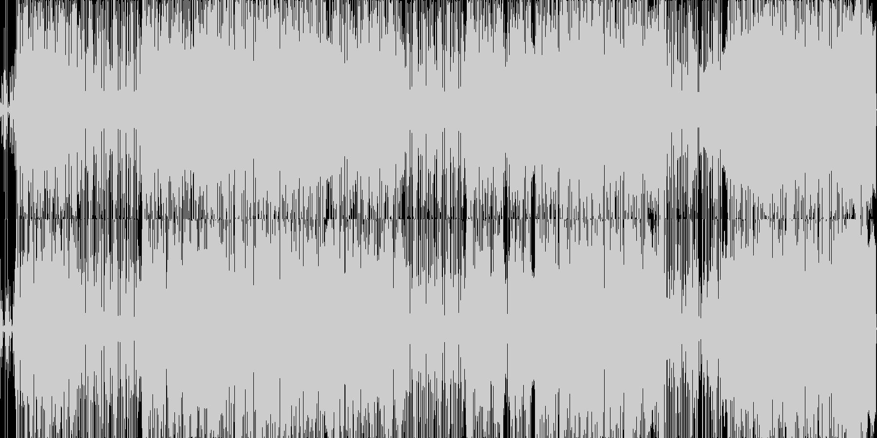 エスニックなテクノ。の未再生の波形