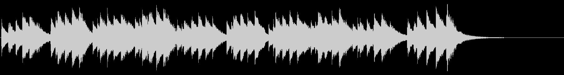 ハッピーバースデー 72弁オルゴールの未再生の波形