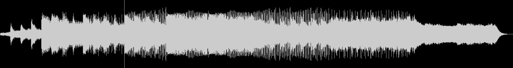 和をイメージした曲の未再生の波形