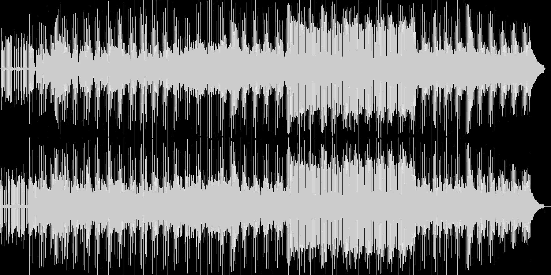 疾走感あふれるEDMの未再生の波形