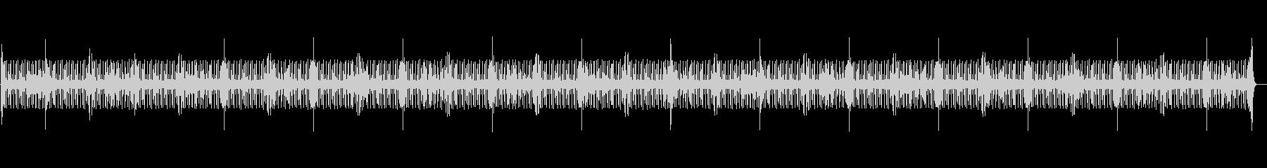 ハーフタイムシャッフル・ドラムのみの未再生の波形