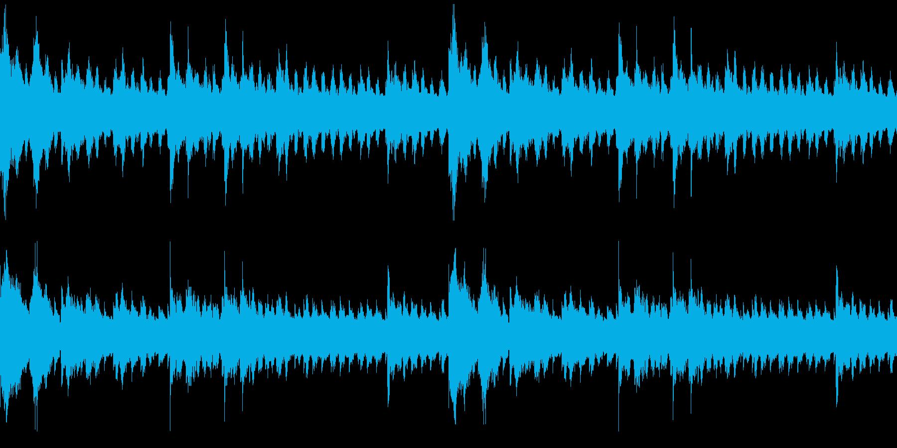 怪談・ホラーBGM/ループ仕様の再生済みの波形